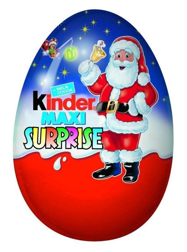 Kinder Maxi Surprise 100 G Yllätysmuna