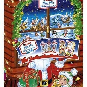 Kinder Mini Mix 150 G Joulukalenteri