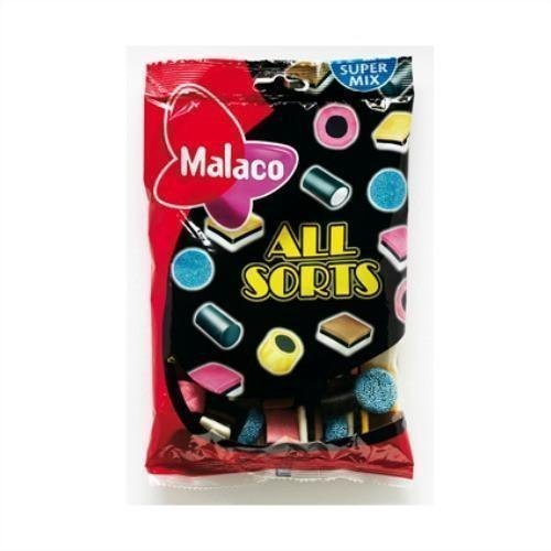 Malaco Allsorts Englantilainen Lakusekoitus 400g