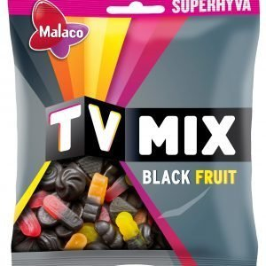 Malaco Tv Mix Black Fruit 325 G Makeissekoitus