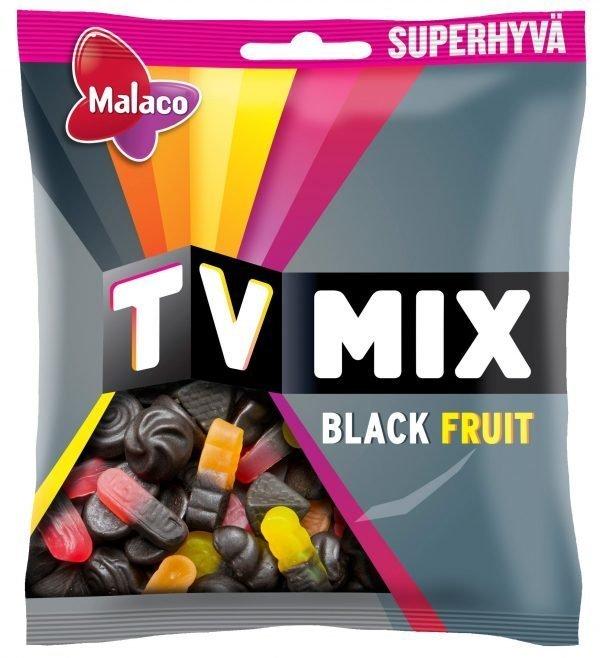 Malaco Tv Mix Black Fruit 325 G Makeissekoitus