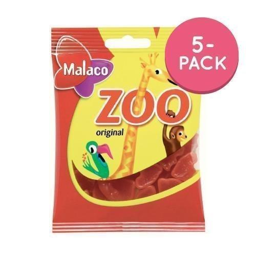 Malaco Zoo Apinat 5-pack 5 x 80g