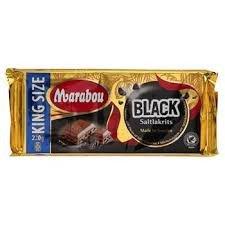 Marabou Black Lakrids Gigant 220 G