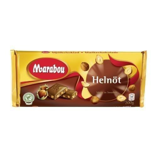 Marabou Helnöt Suklaalevy 200g
