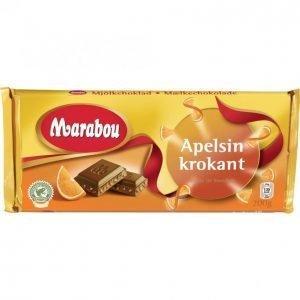 Marabou Suklaalevy 200g Appelsiini-Krokantti