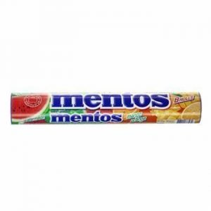 Mentos Watermelon Mango Orange Jumbo Roll 8er 296 G