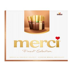 Merci Mousse Au Chocolat Vielfalt 210 G