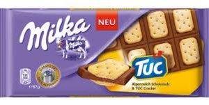 Milka Alpenmilch & Tuc Cracker 100 G
