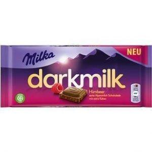 Milka Darkmilk Hindbær 85 G