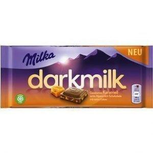 Milka Darkmilk Saltet Karamel 85 G