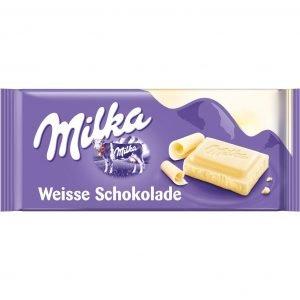 Milka Hvid Chokolade 100 G