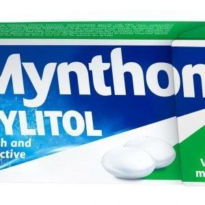 Mynthon Xylitol 31g Viileä Minttu