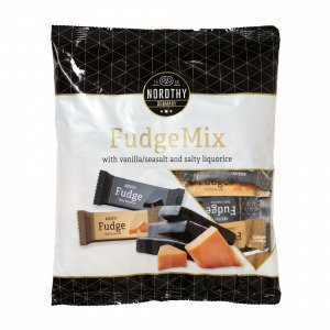 Nordthy Fudge Mix Med Vanilje / Havsalt And Saltet Lakrids 500 G