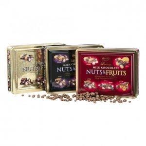 Pähkinäsekoitus 800g Suklaa-Hedelmä