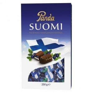 Panda Suomi Konvehti 250g Mustikka-Vanilja