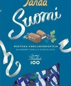 Panda Suomi Mustikka-Vaniljakonvehteja 250g