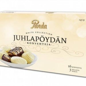 Panda White Collection 145 G Juhlapöydän Konvehtirasia