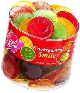 Red Band Frugtvingummi Smile 1200g