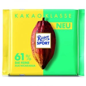 Ritter Sport Cocoa Selection 61% Fine 100 G