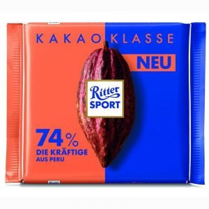 Ritter Sport Cocoa Selection 74% Intense 100 G