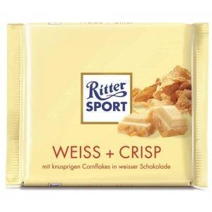 Ritter Sport Hvid Knas 100gr.