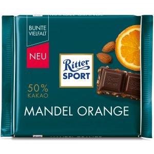 Ritter Sport Mandler Orange 100 G