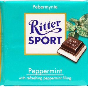 Ritter Sport Pebermynte 100 G