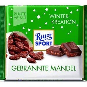 Ritter Sport Vinter Edition Ristede Mandler 100 G