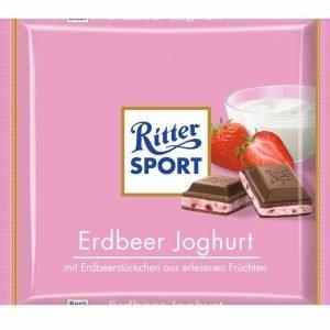 Ritter Sport Yoghurt M. Jordbær 100 G