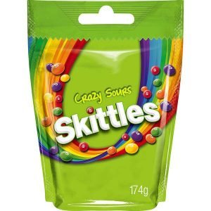 Skittles Crazy Sours 174 G