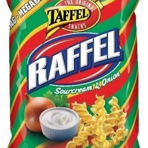 Taffel Raffel Sour Cream & Onion 235g
