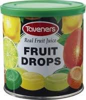 Taveners Fruit Drops 200 G