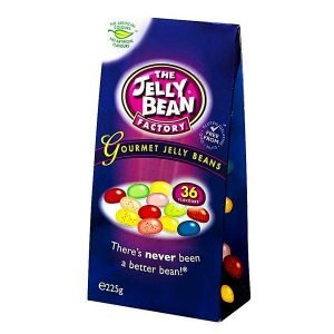 The Jelly Bean Factory 36 Gourmet Flavours 225 G