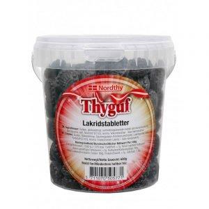 Thyguf Lakridstabletter 600 G
