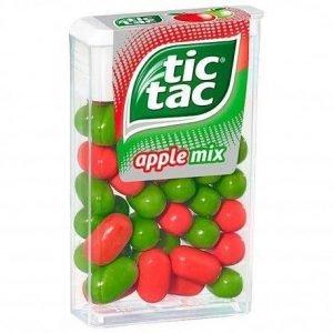 Tic Tac Æble Mix 49 G
