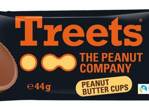 Treets Peanut Butter Cups 44 G