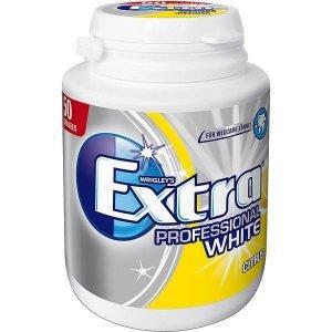 Wrigley's Extra Tyggegummi Sukkerfri Professional White Citon- Dåse 50 Stk.