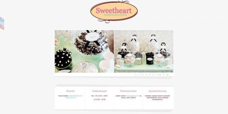 Karkkikauppa Sweetheart